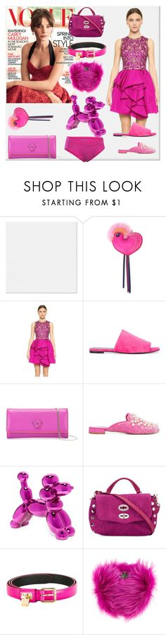 """in the fashion"" by denisee-denisee ❤ liked on Polyvore featuring MCM, Marchesa, Robert Clergerie, Versace, Natasha Zinko, Zanellato, Dolce&Gabbana, Mr & Mrs Italy, Under Armour and vintage"