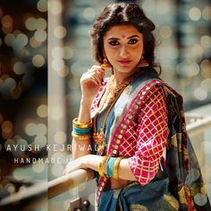 Saree by Ayush Kejriwal For purchases email me at ayushk@hotmail.co.uk or what's app me on 00447840384707. We ship Worldwide.