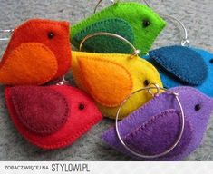 felt crafts | felt crafts na Stylowi.pl Like the tone on tone colours.