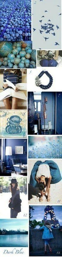 blue Blue, blue, blue