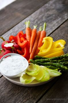 High Protein Ranch Dip and Dressing....made with buttermilk and cottage cheese!!! Totally trying this! Mind=blown.