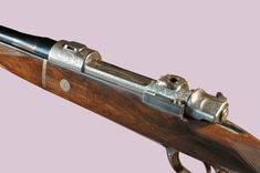 Max Ern Mauser bolt action rifle engraved