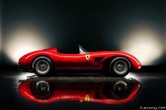 xferrari trc250 - testa rossa - 1951