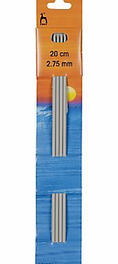 Pony 20cm Knitting Needles, Pack of 4, Assorted These sturdy yet lightweight double point needles are ideal for circular knitting or to knit smaller tube shaped pieces such as sleeves, collars and socks. (Barcode EAN=8901003366068) http://www.comparestoreprices.co.uk/hobbies/pony-20cm-knitting-needles-pack-of-4-assorted.asp