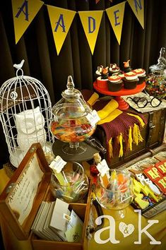 HOGWARTS / Harry Potter Birthday Party Ideas | Photo 12 of 15 | Catch My Party