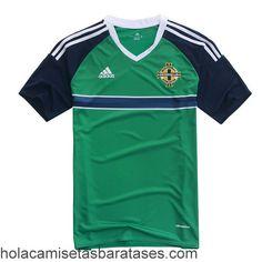 Camiseta Primera Irlanda Del Norte Euro 2016  €15.5