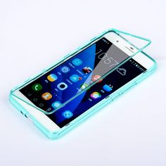 Ultra-thin For Huawei Honor 6 Plus Case High Quality 100% Transparent Material Flip TPU Back Cover For Honor 6 Plus Phone Cases *** AliExpress Affiliate's Pin.  Detailed information can be found on AliExpress website by clicking on the image