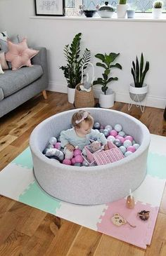 Our Mini Be Ball Pits are of the highest quality, non-toxic and are the most modern and unique ball pits on the market 🙌 Available in 11 different ball colour combinations to suit every bedroom, playroom or nursery. Ball Pit Pink, Iphone Wallpaper Inspirational, Nursery Modern, Baby Blog, Mini, Ball Pits, Nursery Inspiration, Baby Accessories, Girl Nursery