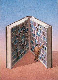 """Un día, leyendo, ves la clara interconexión entre muchos libros (y sus autores, claro) Esto puede asustar, un poco """"freaky"""" dicho así, pero es algo bello, que sólo se ve desde dentro (yo, incluso con mi escasa inteligencia, soy capaz)"""