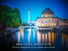 Non è fantasia, ma di certo un luogo che ti sa stupire per le sue bellezze, impreziosite dalla cornice del fiume #Sprea. Benvenuto a #Museumsinsel, l'isola dei #Musei di #Berlino! #viaggi #viaggidiboscolo #Germany Germania #tourism
