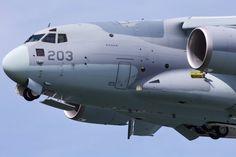 Kawasaki C-2 (68-1203) military transport aircraft (c) flyteam.jp