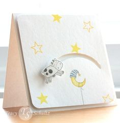 Over the Moon slider card. OH MY!!! Going to make these for the baby shower!!!