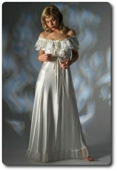 Jane Woolrich Silk Nightdress 3271