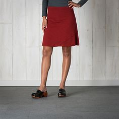 Women's Oblique Skirt from Toad & Co