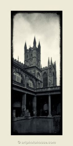 Bath Abbey, England from the Vintage Series - I took this very photo in 1995!