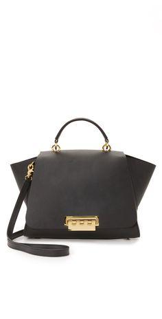 1d097ba6a16f1 ZAC Zac Posen Eartha Soft Top Handle Bag | SHOPBOP Structured Handbags,  Cloth Bags,