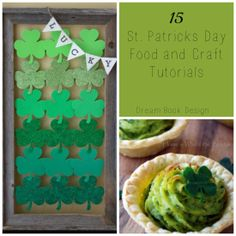 St. Patricks Day Crafts and Food