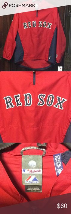 b9abe89503a New Boston Red Sox Jacket New with tags. Men s size medium. Made by Majestic