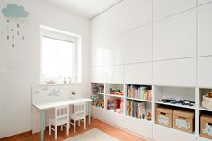 Ikea Besta for all wall storage system in children's room Ikea Storage, Wall Storage, Storage Ideas, Toy Storage, Muebles Living, Ikea Wall, Ikea Bedroom, Bedroom Ideas, Toddler Rooms