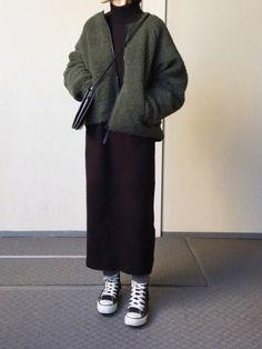 Modest Fashion Hijab, Modern Hijab Fashion, Street Hijab Fashion, Korean Girl Fashion, Hijab Fashion Inspiration, Korean Street Fashion, Muslim Fashion, Fashion Outfits, Long Skirt Fashion