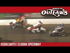 World of Outlaws Craftsman Sprint Car Series Feature Event Highlights from the Eldora Speedway in Rossburg, Ohio on May For more information and fu. Real Racing, Cars Series, Sprint Cars, Tony Stewart, Craftsman, Highlights, World, Youtube, Artisan