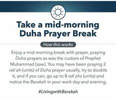 Prophet Muhammad, Prayers, The Unit, Prayer, Beans