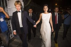 Prince Christian and Alessandra tied the knot for the second time in the fashion designer's native Peru Mar 2018