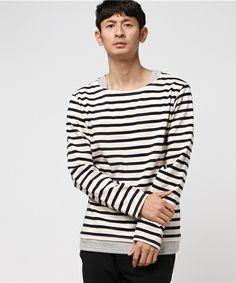 【ZOZOTOWN 送料無料】Audience(オーディエンス)のTシャツ/カットソー「BSQ度詰天竺レイヤードボートネックカットソー」(aud1713)を購入できます。