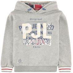 Sweat en molleton - 126140 Pepe Jeans, Boys Shirts, Alter, Kids Boys, Kids Outfits, Kids Fashion, Baby Boy, Sweatshirts, Jeddah