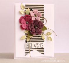 Karen Creates Cards: Simon Says Stamp Wednesday Challenge - Fun with Felt