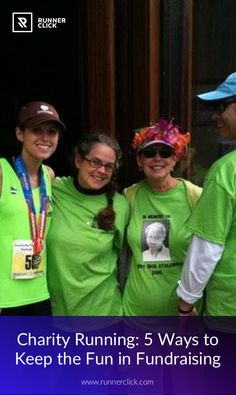 Charity Running: 5 Ways to Keep the Fun in Fundraising #Runnerclick