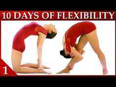 10 Day Flexibility Challenge Day 1 – Basic Stretches & Warmup Workout Dance with Catherine - YouTube