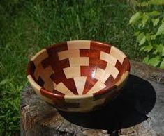Image result for woodturning glue up patterns