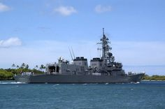 Japanese Navy Guided Missile destroyer JS Ariake