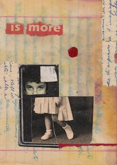 "Cinzia Farina - mail art, ""is more"""