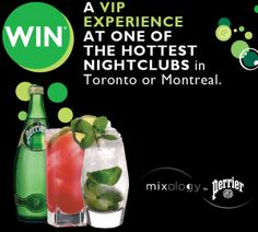 Win a VIP Experience with Perrier