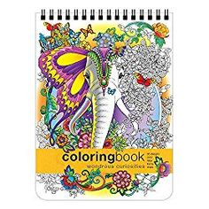 Wondrous Curiosities Adult Coloring Book by Artsy Tales – Adult Coloring Worldwide