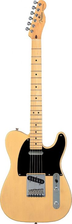 Keith Richards, Jimmy Page, Bruce Springsteen, Jeff Beck .... All chose the worlds first production guitar - The Telecaster....