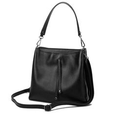 100% Genuine Leather Bags 2016 Luxury Large Women Tote Shoulder Bags High Quality Women Messenger Bags Tassel Cowhide Small Bag