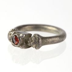 A Persian Silver Finger Ring, Achaemenid Period, ca 550 - 330 BC | Sands of Time Ancient Art