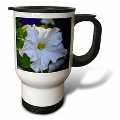 Wild Bramble A Garden Petunia Stainless Steel Travel Mug 14Ounce *** Read more reviews of the product by visiting the link on the image. (This is an affiliate link) #TravelMugs