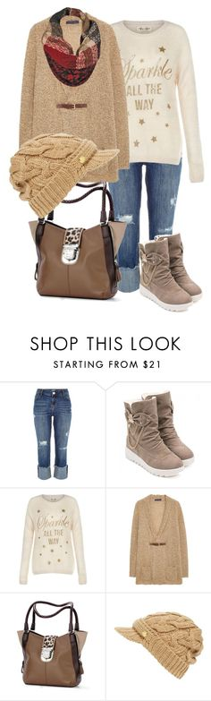 """""""Unexpected ER Visit..."""" by tweedleduh on Polyvore featuring River Island, Violeta by Mango, Brighton, MICHAEL Michael Kors and Black Rivet"""