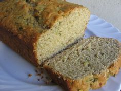 Skinny Zucchini-Apple Loaf Cake - Simple Nourished Living
