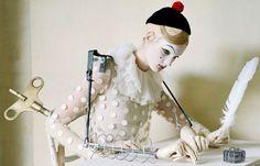 Tim Walker - Mechanical Dolls  #timwalker #mechanicaldolls #dolls #makeup #fashion #photography