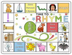 Rhyming Games & Worksheets - Phonemic Awareness - CCSS Aligned for Kindergarten $