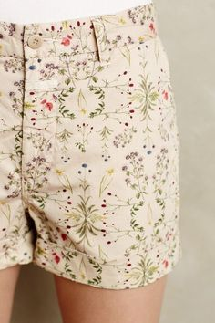Pressed Petal Shorts - anthropologie.com #anthrofave