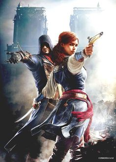 Assassin's Creed: Unity - Arno and Elise