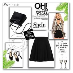 """""""shein"""" by kikolop ❤ liked on Polyvore featuring River Island and Riedel"""