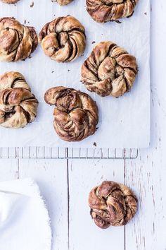 Sourdough cinnamon swirls