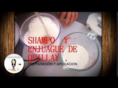 Shampoo y enjuague quillay Pure Oils, Blogger Themes, Handmade Soaps, Glass Of Milk, Salons, Youtube, Pure Products, Natural Shampoo, Shampoo And Conditioner
